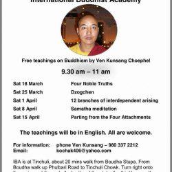 Talks program Mar-April 2017