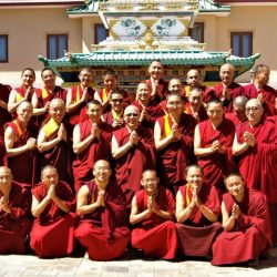 IBA monks group photo