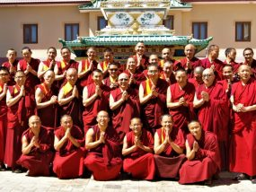 IBA monks group photo