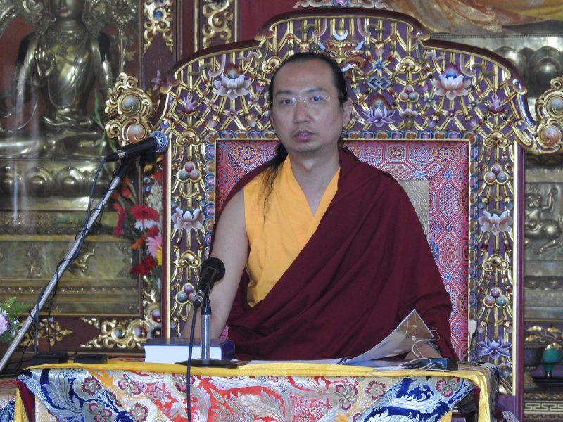 HH 42nd Sakya Trizin begins TCP teaching